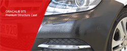 Fig 1: This SUV has been customized with 975 Crocodile structured cast film.