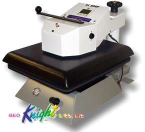 The DK20SP is the best DK press for laser transfers