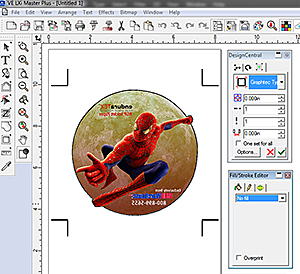 LXI has all the design tools you need to create professional quality transfers with RGP