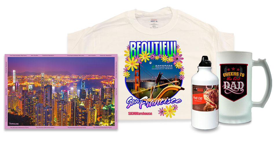 things you can do with a desktop dye sublimation printer