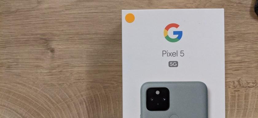 Pixel 5 開箱