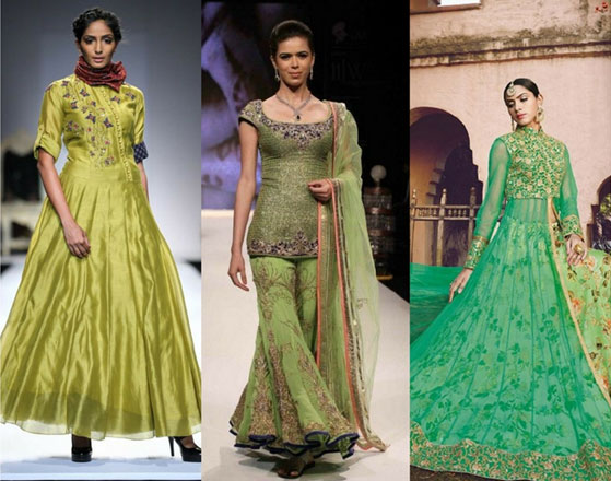 Greenery-in-Indian-Fashion-10