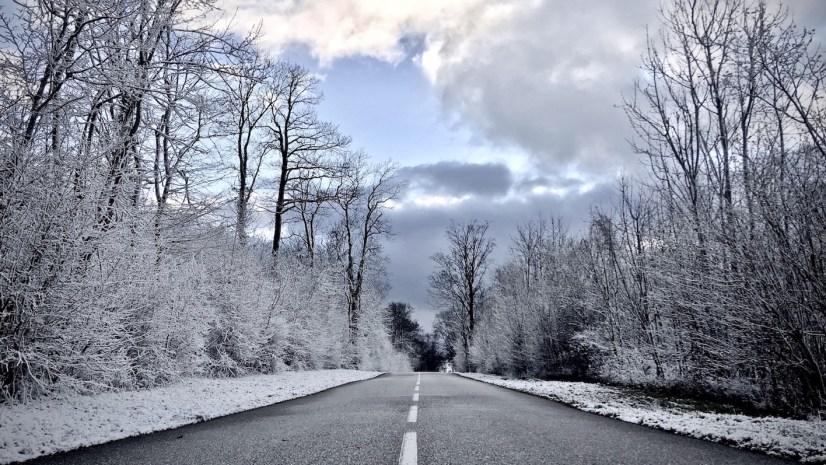 Colline de Sion en hiver
