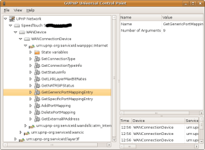 Going through the available functions that the router exports, and allows to configure remotely.
