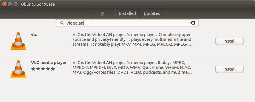 How to install the VLC 3 0 snap in Linux – Mi blog lah!