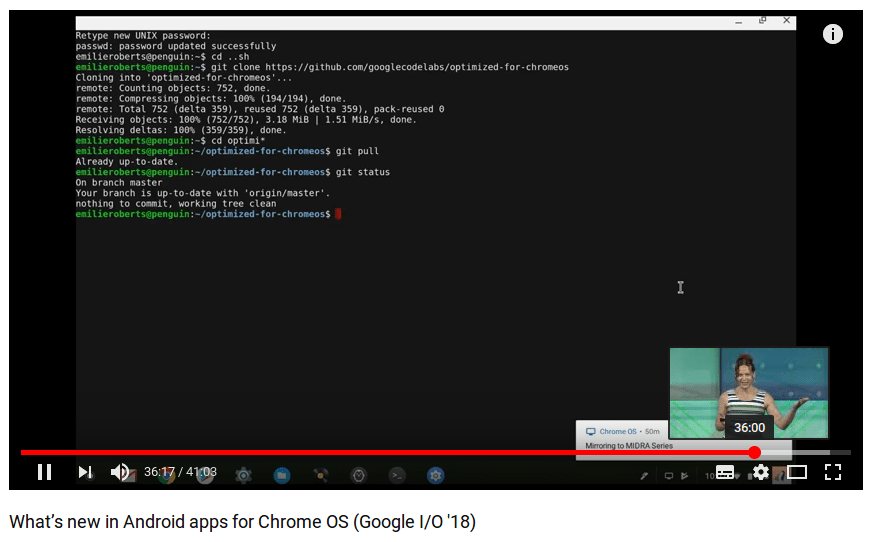 A closer look at Chrome OS using LXD to run Linux GUI apps