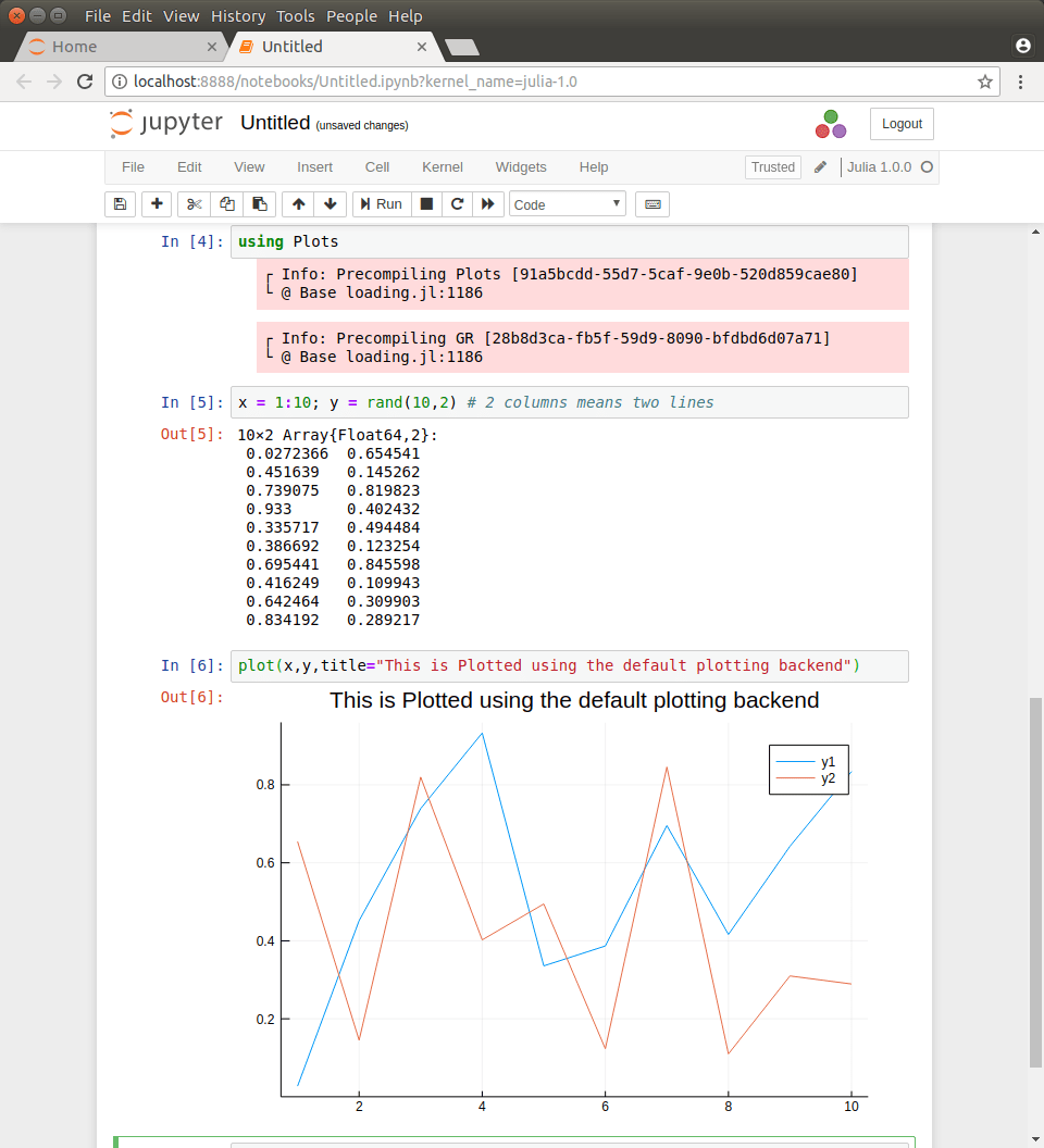 How to run Julia on Jupyter in a LXD container – Mi blog lah!