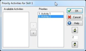 Priority Activities for Skill 1