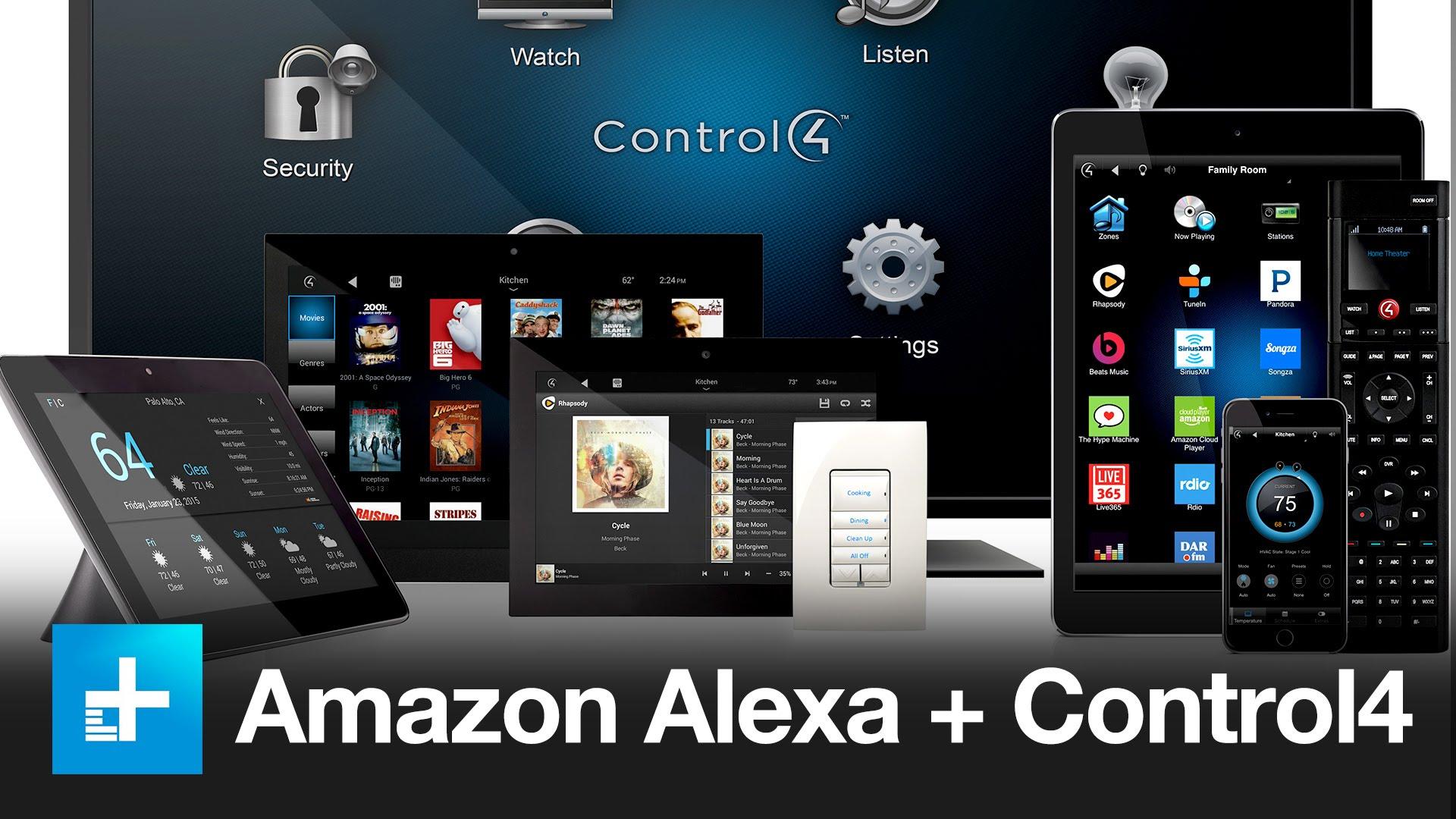 Alexa+Control4