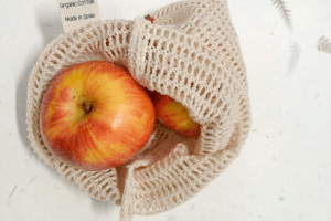 Cooton mesh produce bag