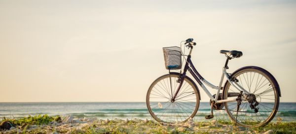 Bicileta para vacaciones sin plástico