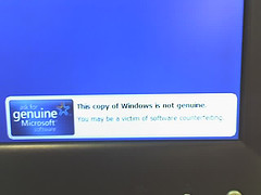 Not Genuine Windows