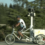 Google Street View with bike