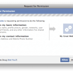 Facebook:new security policy for apps – luckily not for now