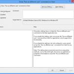 Zaženi program kot drug uporabnik v Windows 8