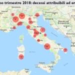 Primo trimestre 2018: decessi per overdose da eroina