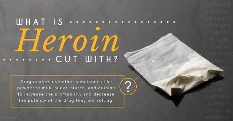 Le sostanze da taglio dell'eroina