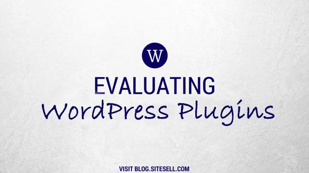 Evaluating WordPress Plugins