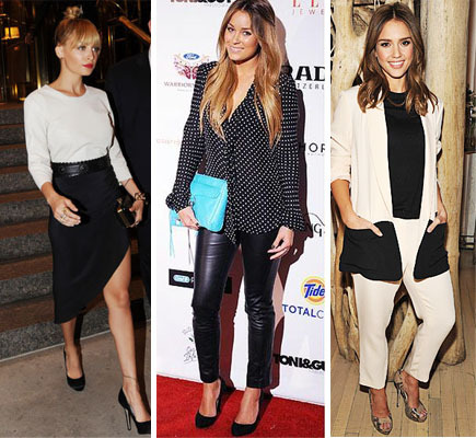 blog sittakarina - max up your black'n white look