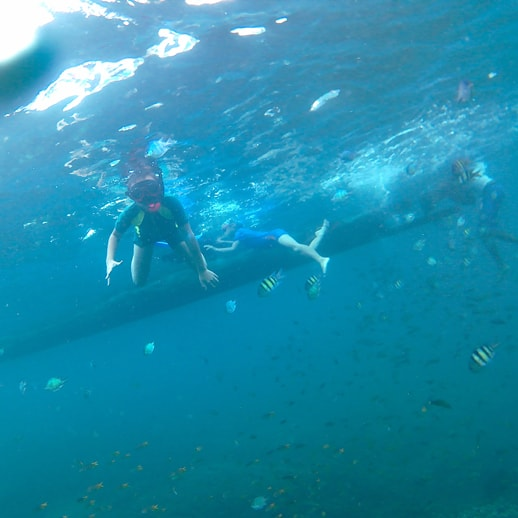 blog sittakarina - Serunya Ajak Anak Snorkeling di Pulau Pahawang (7)
