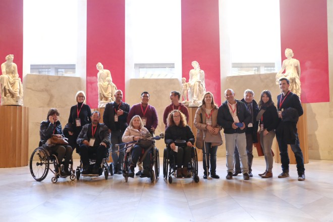 Group at the Prado Museum