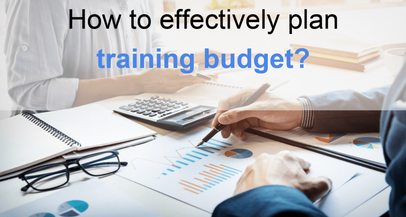 How to effectively plan training budget?