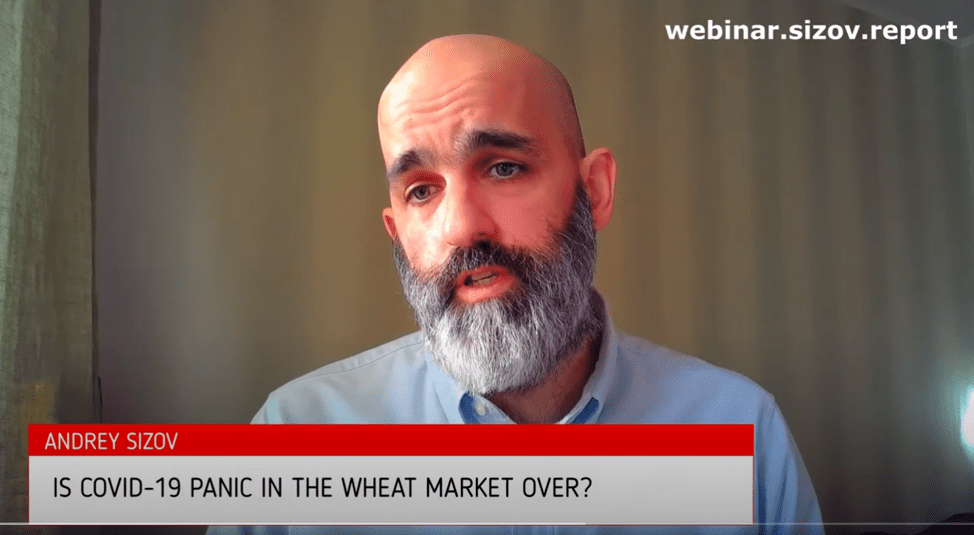 Andrey Sizov speaks about COVID-19 news and wheat market