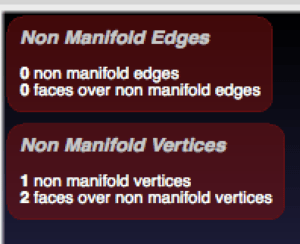 meshlab show non manifold edges and vertices