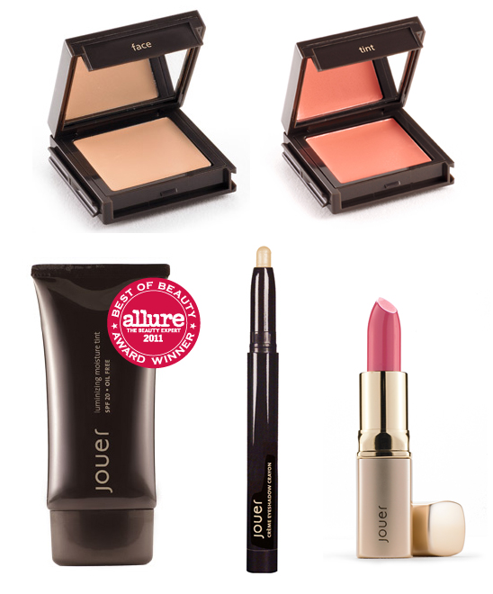 jouer cosmetics giveaway five products