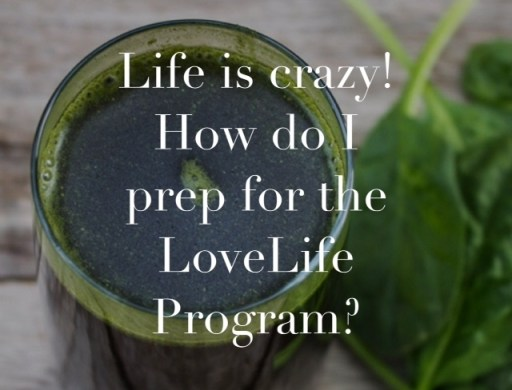 lovelife prepping cooking juicing