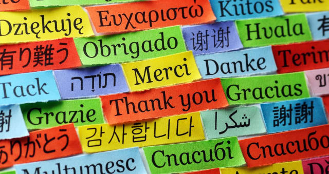 Many ways to say thank you.