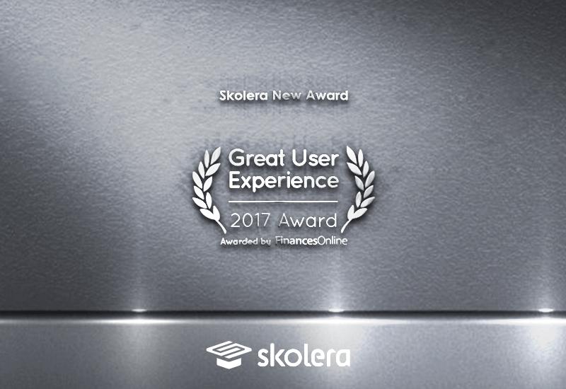 skolera great user experience award