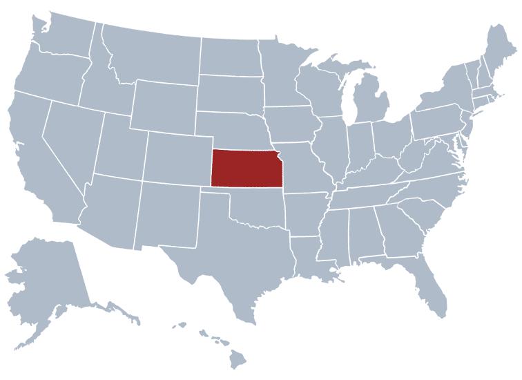 Kansas position on the USA map | Skooldio Blog - ข้อมูลมันสกปรกอะไรขนาดนั้น ทำไมต้องเสียเวลามากมายทำความสะอาด?
