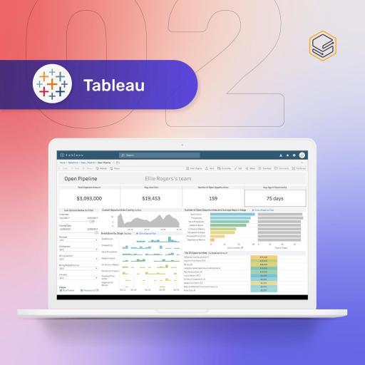 Tableau | Skooldio Blog - 4 เครื่องมือที่จะช่วยให้คุณเริ่มต้นทำ Data Visualization อย่างง่าย