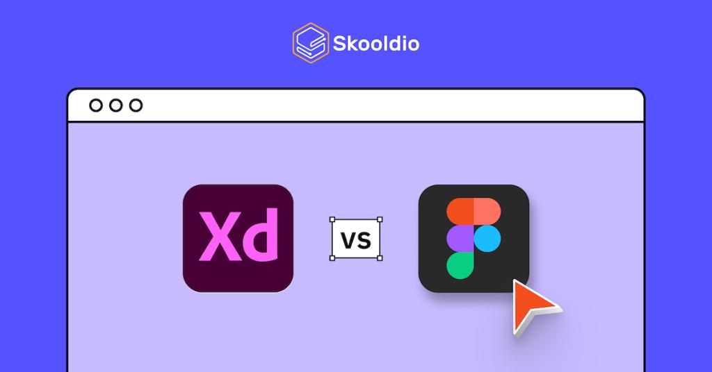 Figma vs Adobe XD | Skooldio Blog - เทียบให้ดูชัดๆ! Figma สุดยอดเครื่องมือฟรี ดีกว่าโปรแกรมอื่นยังไง?