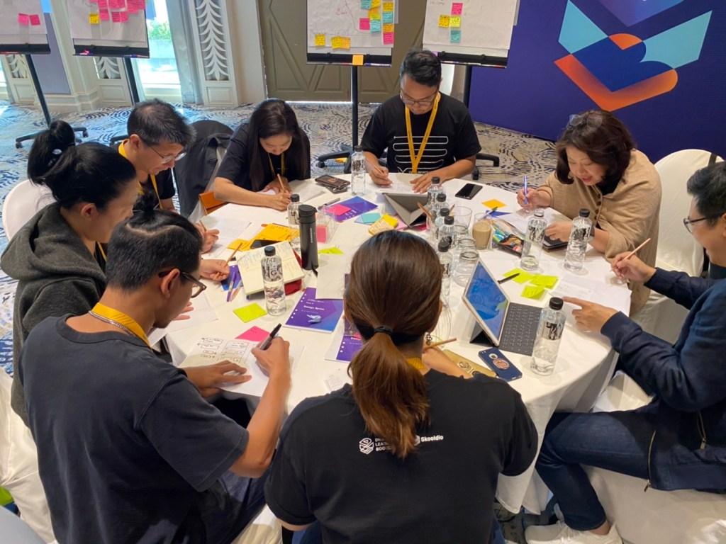 บรรยากาศ Design Sprint 4 วัน | Skooldio Blog - แค่เสริมสกิลดิจิทัลให้ธุรกิจถึงเจอโควิดก็ไม่กระทบ