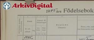 ArkivDigital 1945