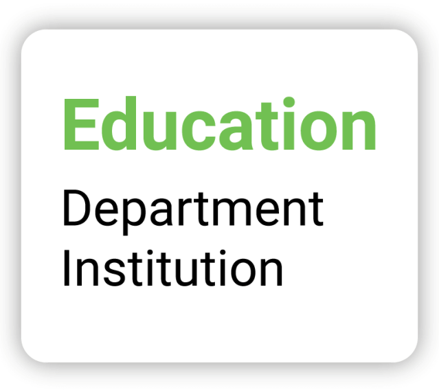 Education - Department Institution