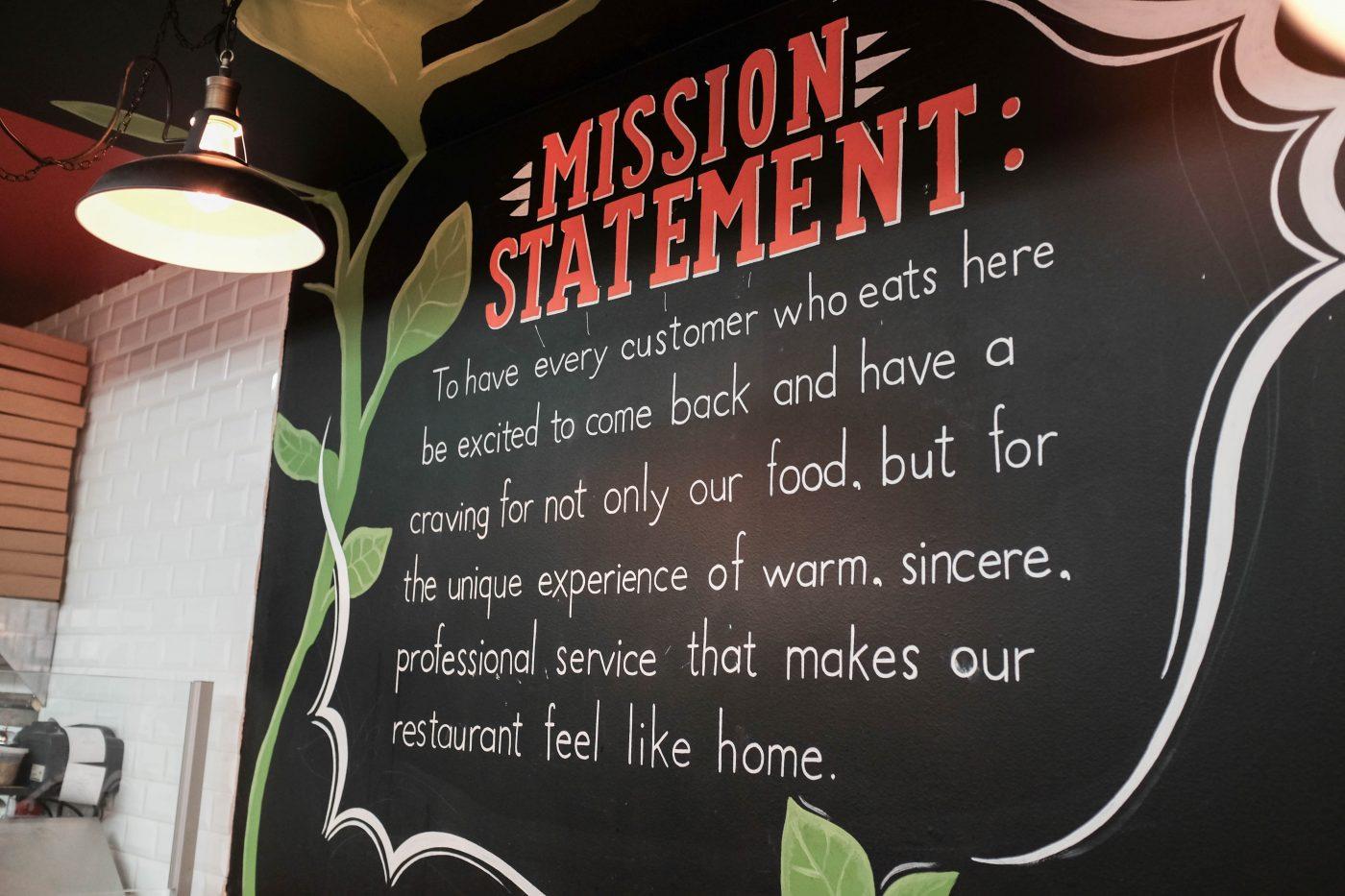 Basil Cucina Mission Statement