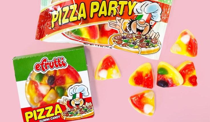 Gummy Pizza efrutti