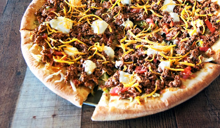 Taco Cheese Pizza