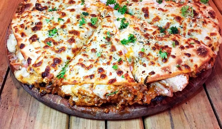 Lasagna Pizza Cheese Pie