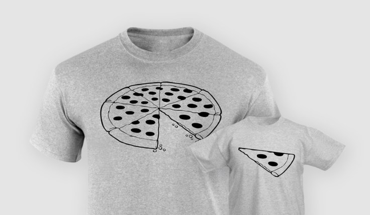 Father Son Pizza Shirt
