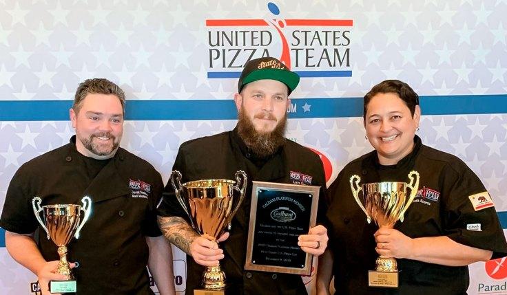 Leah Scurto U.S. Pizza Team