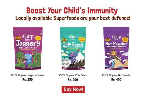 Vaccination chart for baby - Immunity boosting foods