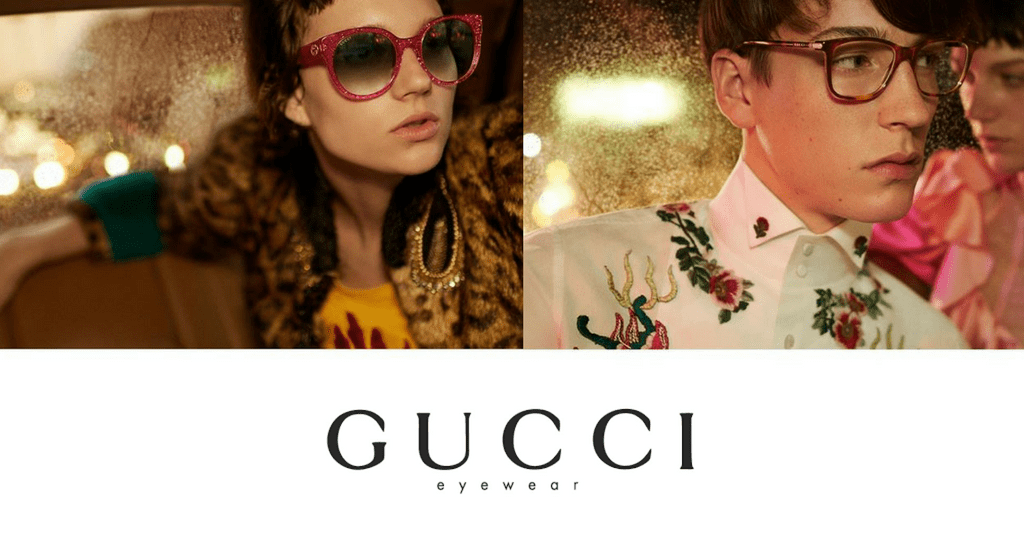 082e1bfb415 Viral In 2017  Gucci Eyewear Campaign