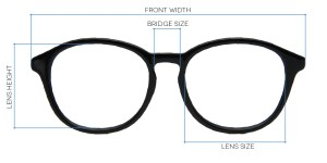 e630cdeae643 Measuring your glasses frame size: Everything you need to know ...