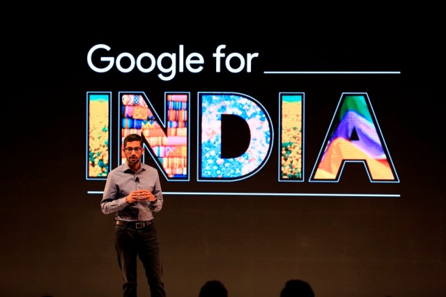 Sundar Pichai, Google for India (1)