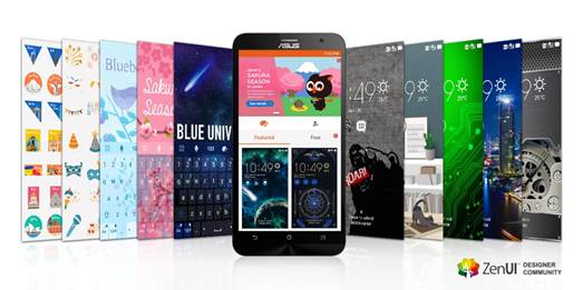 Asus ZenUI content store contest