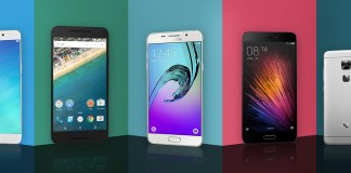 Top five smartphone under 25,000 INR